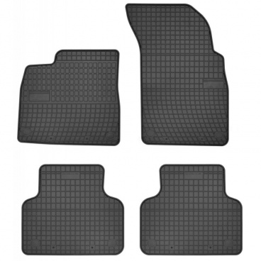 Gumové koberce, AUDI Q7 4M, 2015+