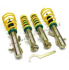 Výškově stavit.podv.ST suspensions pro Fiat 500,500C (312)vč. Abarth+Cabrio,rok výroby:08/07-,zat.náp. př./z.:-830/-735 kg,sn.př./z.náp.:30-60/10-40mm
