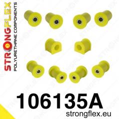 Mazda MX5 1999-05 StrongFlex Sport sestava silentbloků jen pro přední nápravu 10 ks