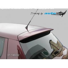 Spoiler 5. dveří - hladký pro lak Škoda Fabia II
