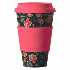 Termohrnek Bamboo Cup - Japanes Cherry 400 ml