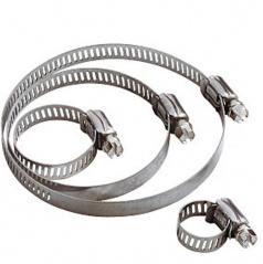 Nerezové spony pro maximální utažení pro průměry 50-100 mm