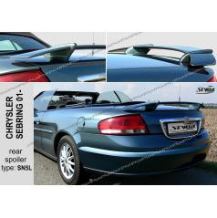 Chrysler Sebring 2001+ zadní spoiler (EU homologace)