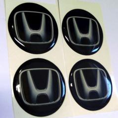 Znak Honda průměr 55 mm, 4 ks