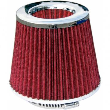 Sportovní vzduchový filtr kuželový červený twister - akce !!!