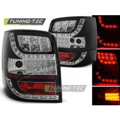 VW PASSAT 3BG 2000-04 VARIANT ZADNÍ LED LAMPY BLACK LED INDICATOR (LDVW85)