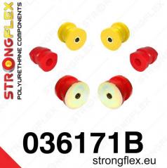 BMW rada 5 (E34) Strongflex zostava silentblokov len pre prednú nápravu 6 ks