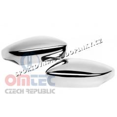Nerez chróm kryty zrkadiel Omtec Škoda Fabia III