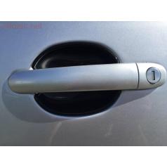 Kryty pod kliky - malé, ABS černá metalíza (2 ks), Roomster • Citigo