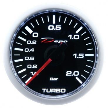 Přídavný budík Depo Racing CSM tlak turba mechanický  52 mm
