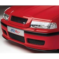 Kryty světlometů Milotec (mračítka) - ABS černý, Škoda Octavia Facelift