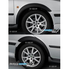 Škoda Octavia Nástavky blatníků normal - černý desén*
