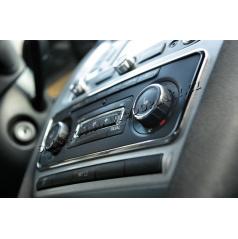 Škoda Octavia II 09-12 - chrom rámeček panelu rádia KI-R