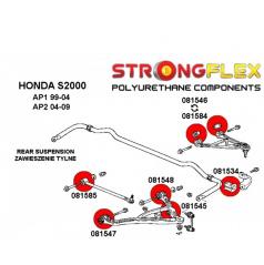 Honda S2000 2005-09 StrongFlex sestava silentbloků jen pro zadní nápravu 14 ks
