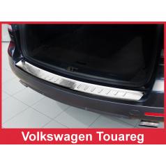 Nerez kryt- ochrana prahu zadního nárazníku Volkswagen Touareg 2007-10
