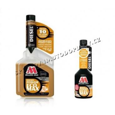 Millers Diesel Power EcoMax - přídavné aditivum do nafty