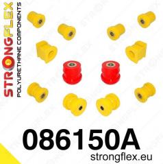 Honda S2000 1999-2004 StrongFlex Sport sestava silentbloků jen pro přední nápravu 12 ks