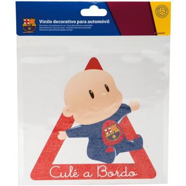 Originální samolepka Dítě v autě s logem FC Barcelona
