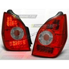CITROEN C2 2003-10 ZADNÍ LED LAMPY RED WHITE (LDCI03)