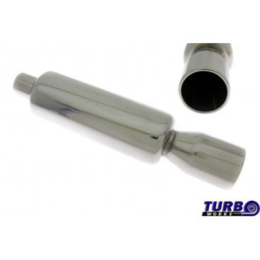 Sportovní výfuk TurboWorks dlouhá kulatá koncovka 3
