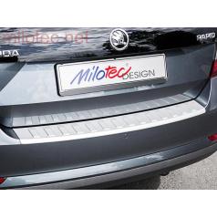Škoda Rapid Spaceback 2013 – , práh pátých dveří s výstupky, ABS-stříbrný
