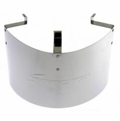 Tepelný štít pro sportovní filtr (výška 140, šířka 310 mm)