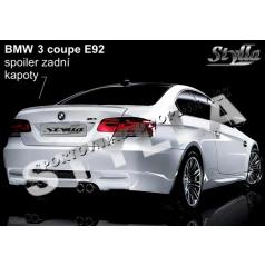 BMW 3/E92 COUPE 06+ spoiler zadní kapoty
