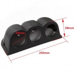 Kryt pro 3 budíky 52 mm na palubní desku