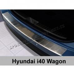 Ochranná lišta hrany kufru-nerez-Hyundai i40 CW