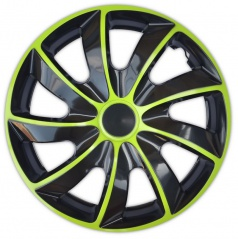 "Kryty kol Quad Bicolor Green 13-16"" (po 1 ks)"