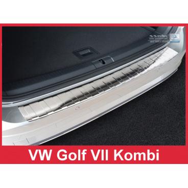 Nerez kryt- ochrana prahu zadního nárazníku Volkswagen Golf VII kombi 2017