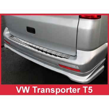 Nerez kryt- ochrana prahu zadního nárazníku Volkswagen Transporter T5 2003-15