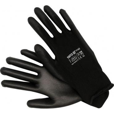 Pracovní rukavice nylon/polyurethan vel.10