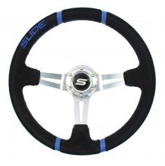 Sportovní volant WRC BLUE 350 mm