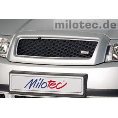 Maska Milotec s černou mřížkou Škoda Fabia I