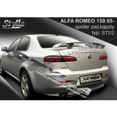 ALFA ROMEO 159 05+ spoiler zad. kapoty (EU homologace)