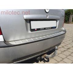 Práh pátých dveří s výstupky ABS-stříbrný Škoda Fabia Combi/Sedan