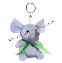 Přívěšek reflexní 3D slon, myš, los