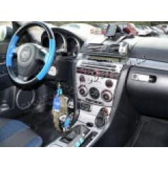 Mazda 3 04 - - dekor přístrojové desky - Alu look