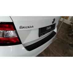 Ochranný panel zadního nárazníku černý základní KI-R Škoda Fabia III htb