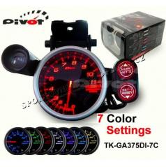 PIVOT - DEPO RACER 80 mm digitální nastavitelný otáčkoměr 0-11000 RPM