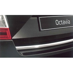 Originální lišta pátých dveří stříbrná Škoda Octavia III liftback originál