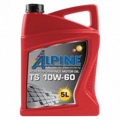 Motorový olej Alpine TS 10W-60 pro závodní automobily