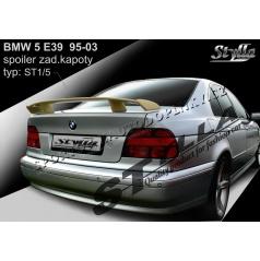 BMW 5, E39 sedan 95-03 spoiler zadnej kapoty (EÚ homologácia)