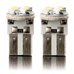 Žárovka LED4 super silná T10 12V 5W - bílá 2ks