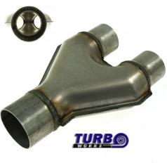 Nerez Y výfukové redukce TurboWorks