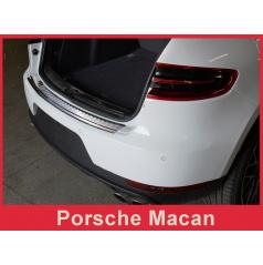 Nerez kryt- ochrana prahu zadního nárazníku Porsche Macan 2014+