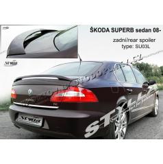 Škoda Superb sedan 2008- zadní spoiler (EU homologace)