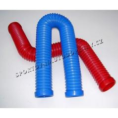 Plastové  vzduchové vedení pro sportovní sání 67 nebo 77 mm vč. 2 spon