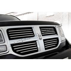 Dodge Nitro - NEREZ chrom lišty přední masky - OMSA LINE